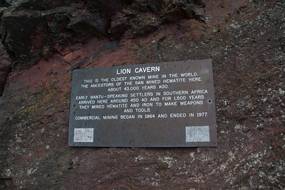 Lion Cavern in Swaziland