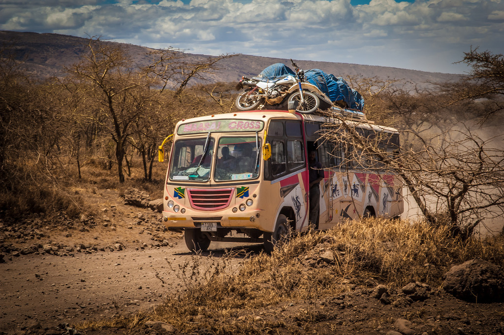 Main route, local bus, Tanzania