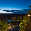 Sunset at Mwiba Lodge overlooking river, Tanzania