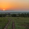 Sunrise, Lamai, Serengeti, Tanzania