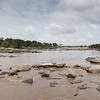 View from low water crossing of Mara River of the Great Migration fame, Lemai, Serengeti National Park, Tanzania