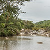 Small river and kopi rocks, Mwiba Lodge, Tanzania
