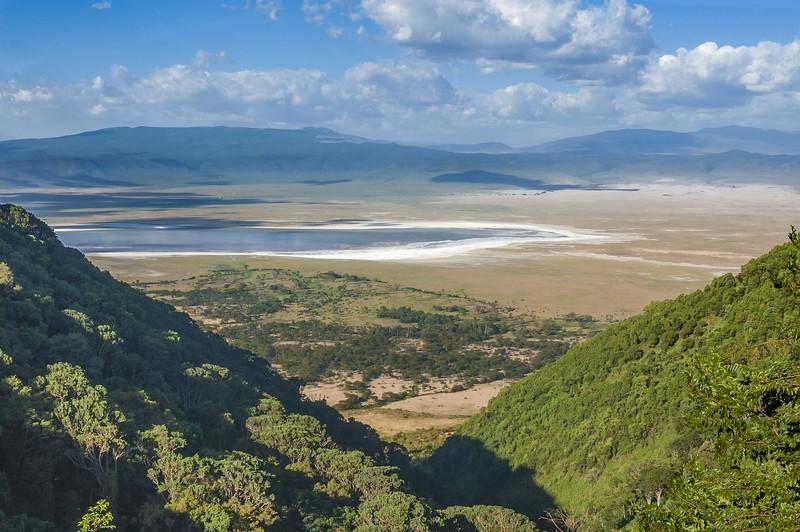 Entrance to Ngorongoro Crater