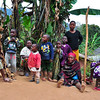 Some people in a small village by the Irente Viewpoint, near Lushoto, Usambara Mountains, Tanzania