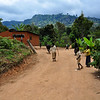 Another village close by the Irente Viewpoint in the Usambara Mountains. Tanzania
