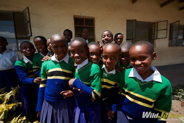 Children of Bomani Primary School