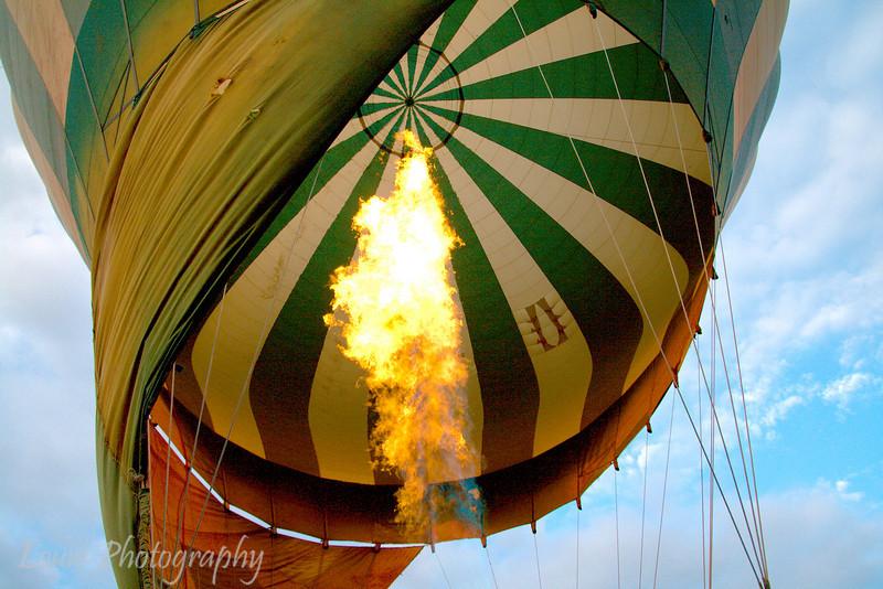 "Hot air balloon, <a target=""NEWWIN"" href=""http://en.wikipedia.org/wiki/Serengeti"">Serengeti</a>, Tanzania"