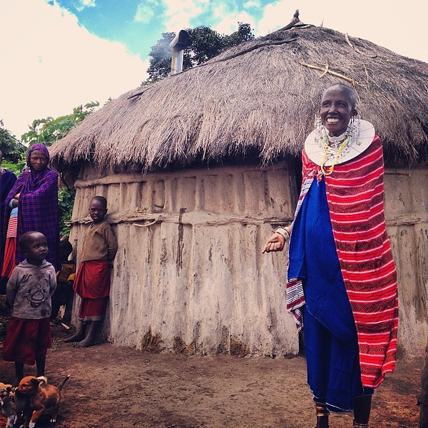 Today, we were profiling a @PlaneterraCares project outside of Arusha-Kilimanjaro, Tanzania that partners with a local organization providing efficient clean-burning stoves to Maasai communities. Once you step into a smoke-filled traditional home (and suffocate), you realize how remarkable and life-changing these stoves can be. The Maasai woman here was one of our hosts. She was dressed for a party following a circumcision ceremony for a group of boys on their way to becoming warriors in a nearby village. She invited us to join her. Stay tuned for more on the party... via Instagram http://ift.tt/1mtUNLV