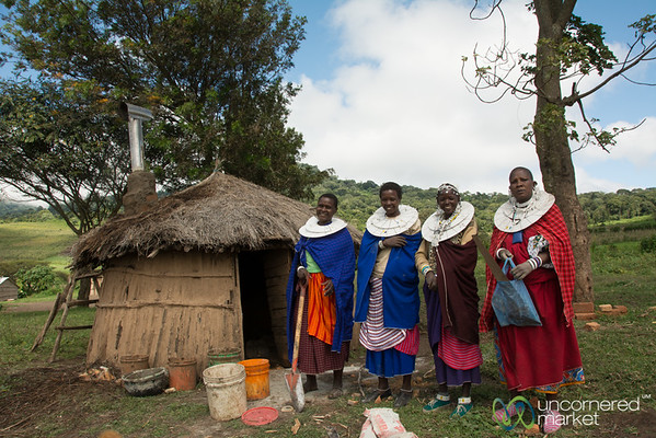 Maasai Women Clean Cookstove Installation Team - Tanzania
