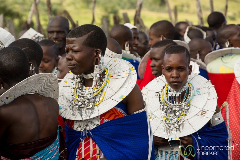 Maasai Women at a Circumcision Celebration - Tanzania