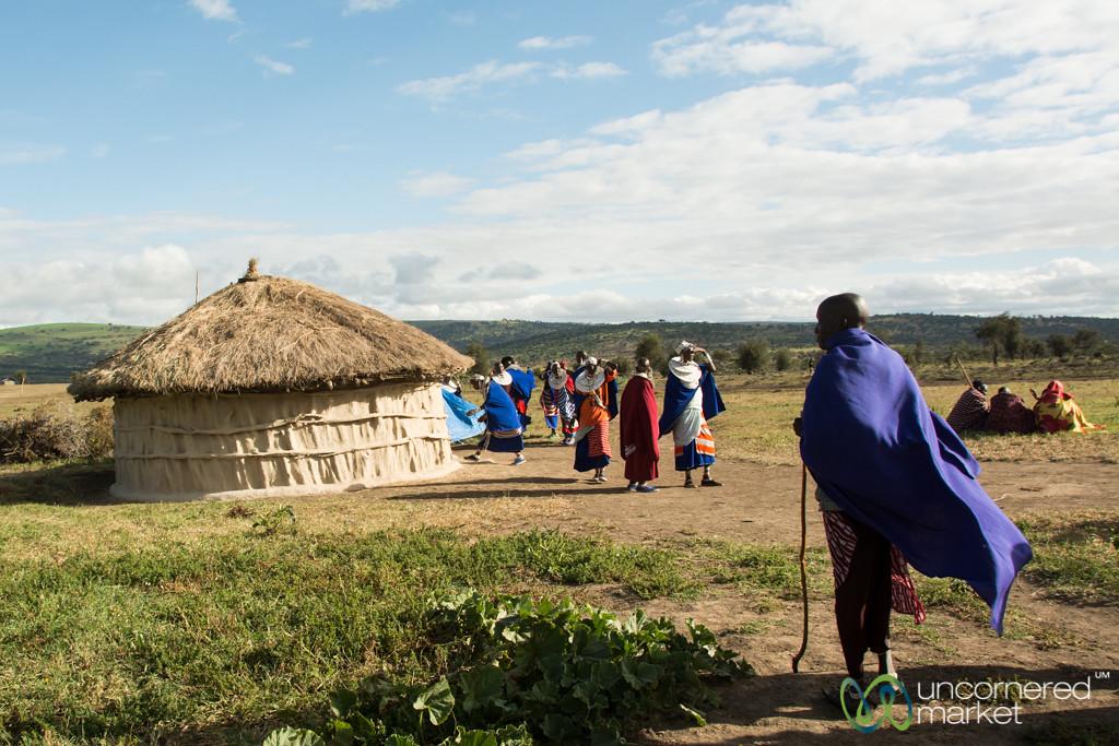 Maasai Village, Warriors and Women - Northern Tanzania