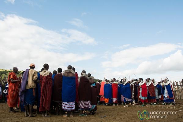 Maasai Dancing at the Circumcision Party - Tanzania