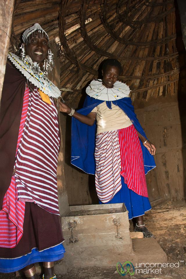 Clean Stove Installation Complete - Tanzania