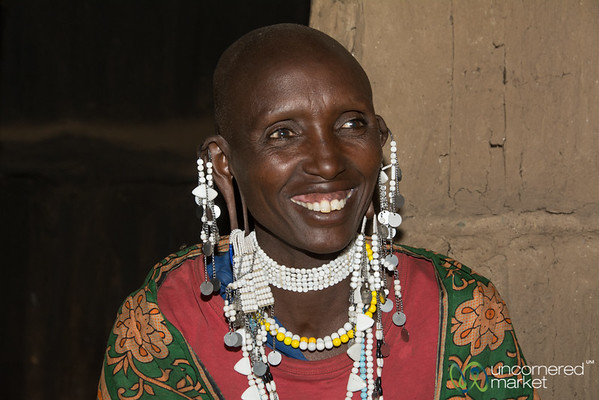 Maasai Woman, Owner of a Clean Cookstove - Tanzania