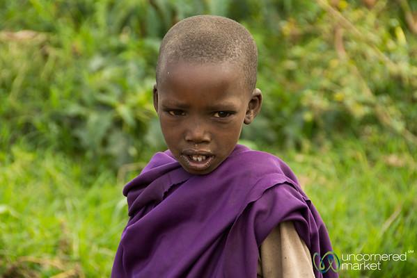 Maasai Boy - Tanzania