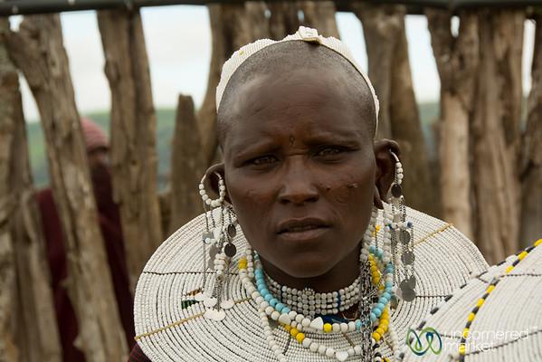 Maasai Woman, Northern Tanzania