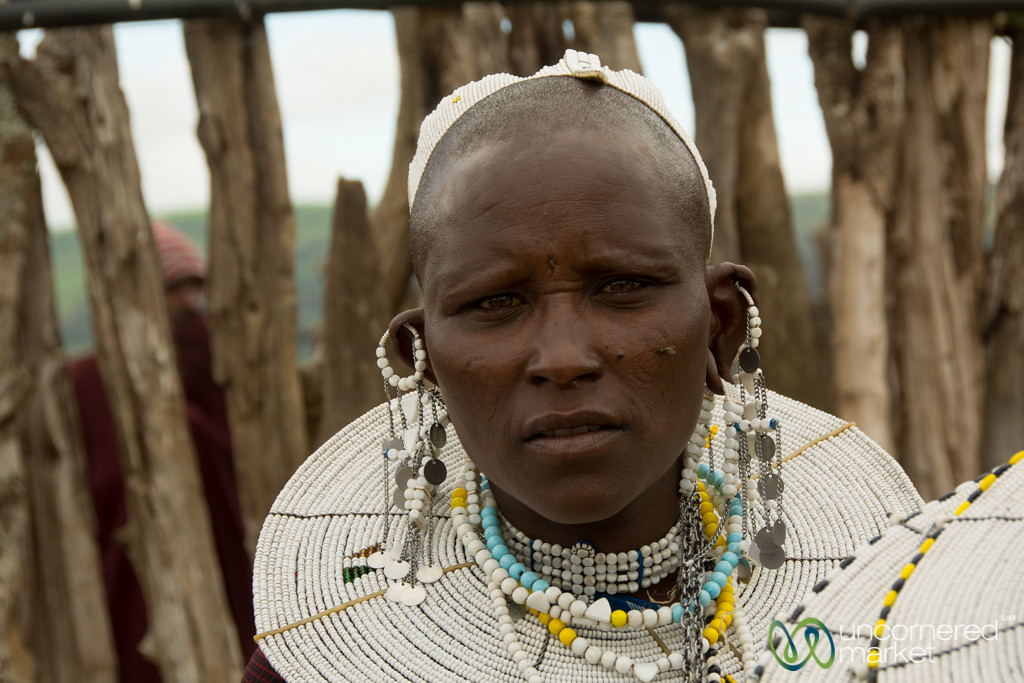 Maasai Woman, Northern Tanzania