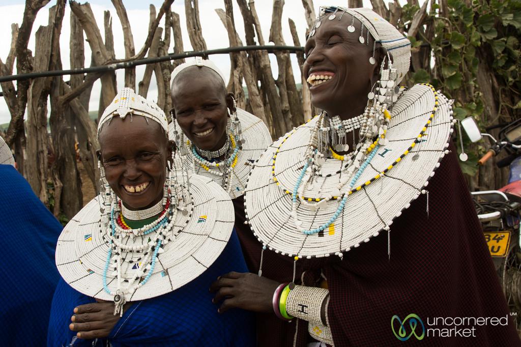 Laughter, Maasai Women - Tanzania