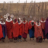 Maasai boma by Mary Fields