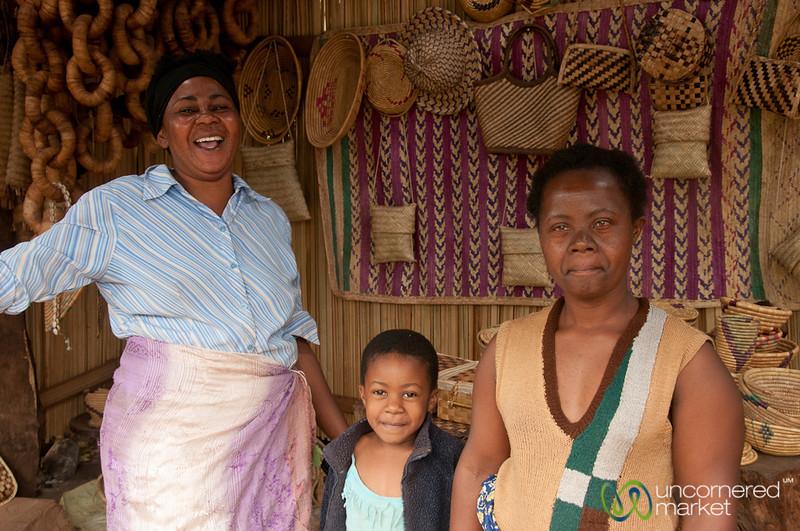 Laughter at the Basket Shop - Mto wa Mbu, Tanzania