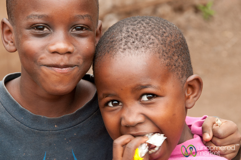Tanzanian Kids - Mto wa Mbu, Tanzania