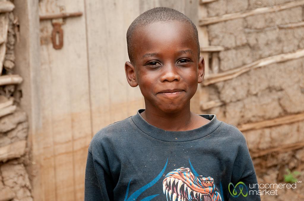 Friendly Tanzanian Boy - Mto wa Mbu, Tanzania