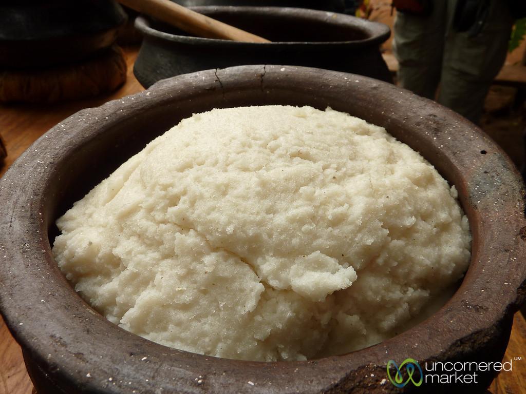 Ugali (Maize Paste) - Mto wa Mbu, Tanzania