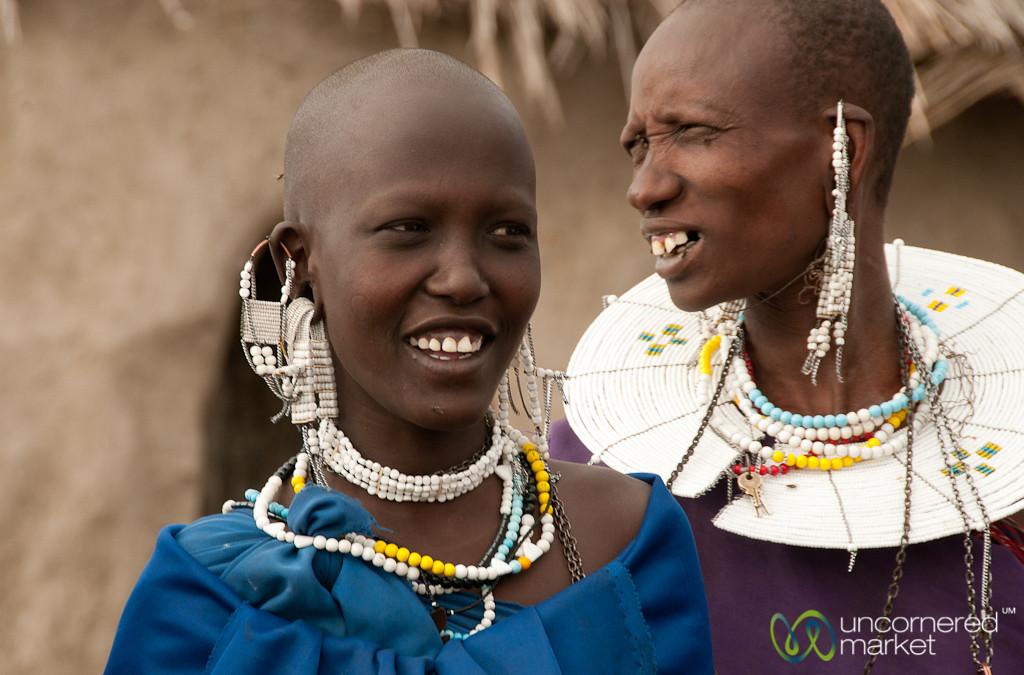 Masai Women - Lake Manyara, Tanzania