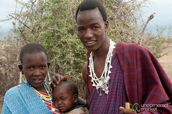 Masai Family - Lake Manyara, Tanzania
