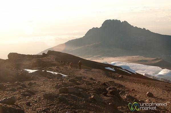 Final Ascent to Uhuru Peak - Mt. Kilimanjaro, Tanzania