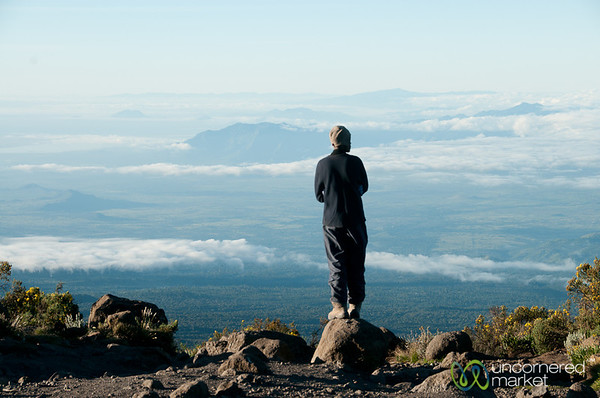 Above Clouds at Horombo Huts - Mt. Kilimanjaro, Tanzania
