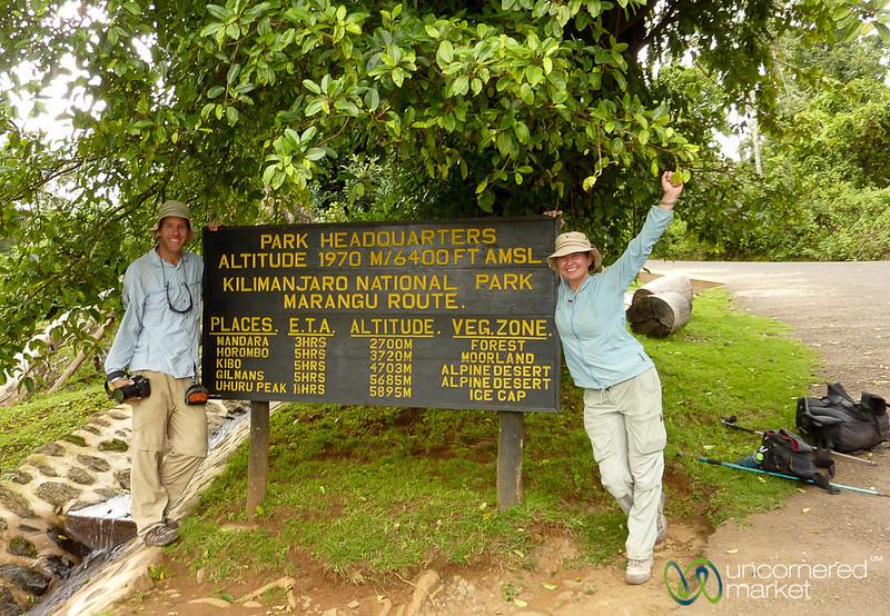Celebrating Climbing Mt. Kilimanjaro - Tanzania
