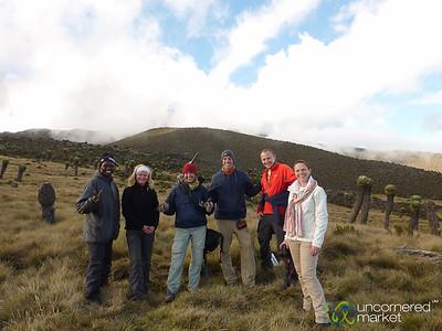 Feeling Good at end of Day 2 - Mt. Kilimanjaro, Tanzania