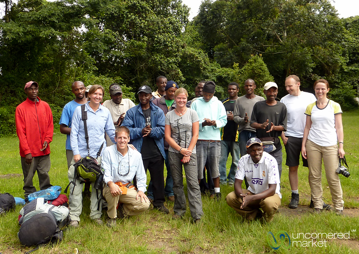 The Whole Kilimanjaro Team!