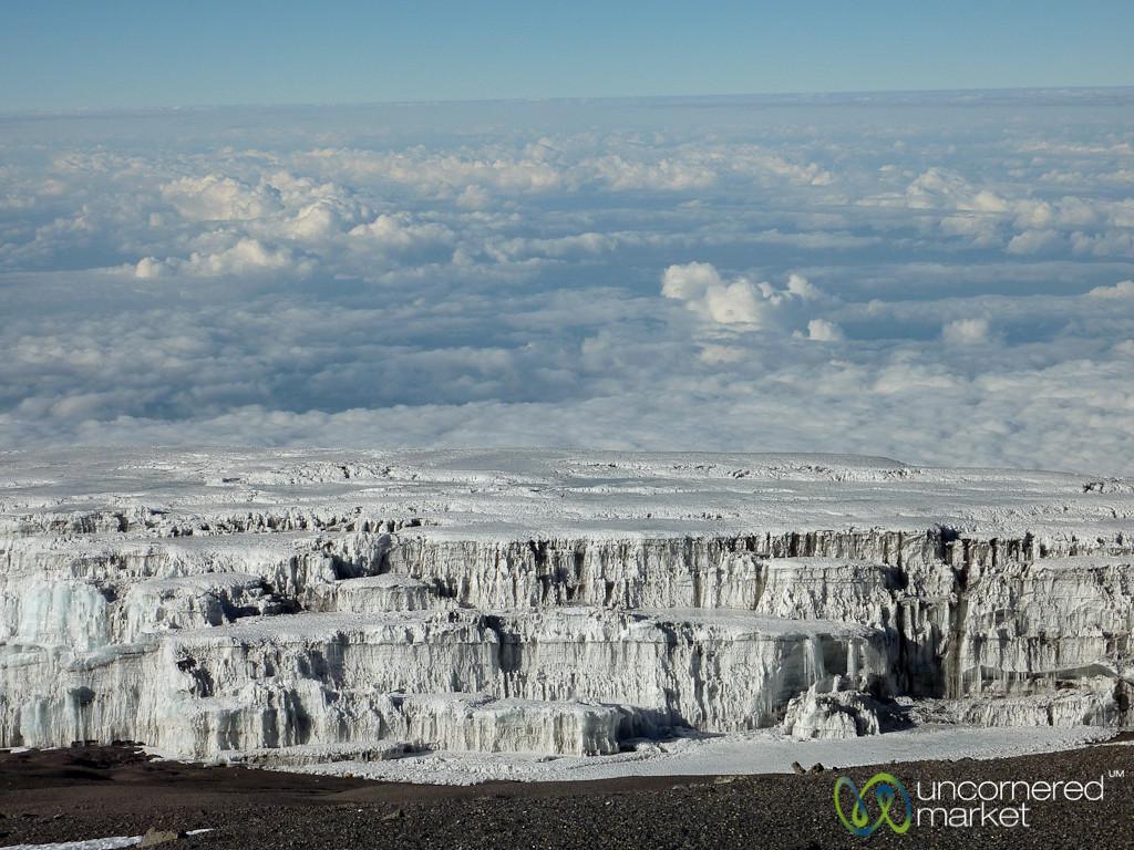 Glaciers in the Clouds - Mt. Kilmanjaro, Tanzania