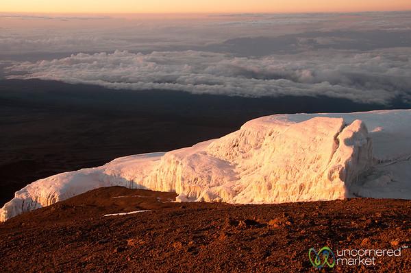 Glaciers Over the Clouds - Mt. Kilimanjaro, Tanzania