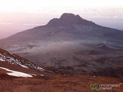 Views from Top of Mt. Kilimanjaro - Tanzania
