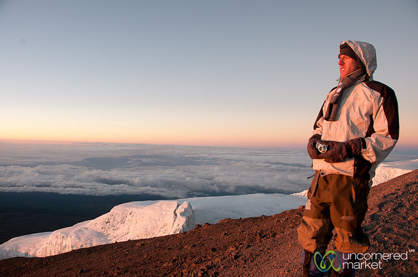 Dawn at the top of Mt. Kilimanjaro - Tanzania