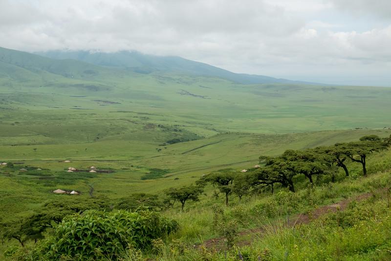 On the edge of the Ngorongoro Conservation Area