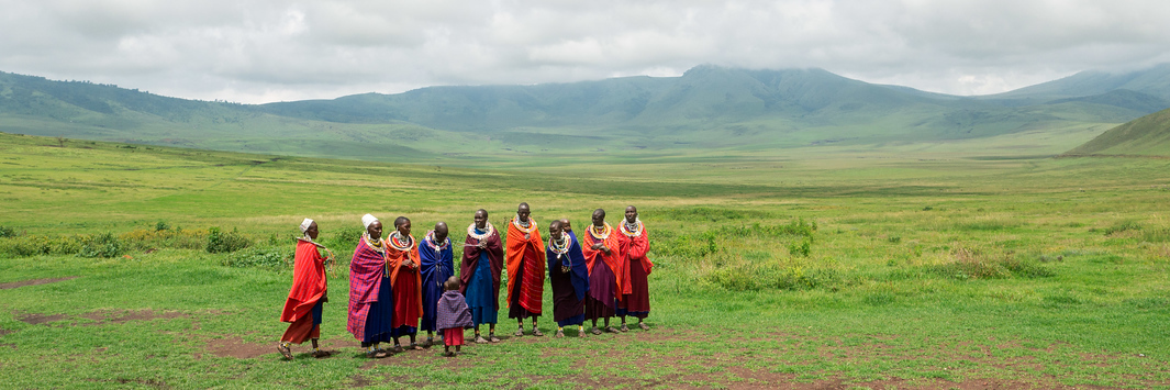 Maasai in the Ngorongoro Conservation Area