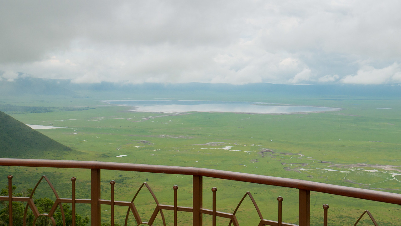 On the edge of the Ngorongoro Conservation Area