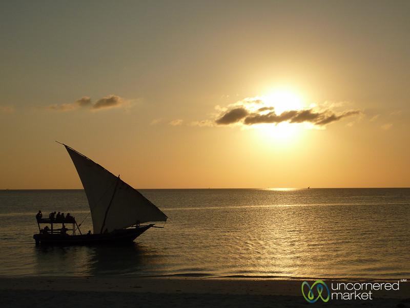 Sunset at Kendwa Beach - Zanzibar, Tanzania