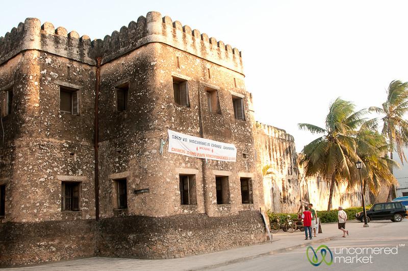 Old Fort in Stone Town - Zanzibar, Tanzania
