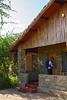 Stone cottages at the Ndutu Safari Lodge, Ngorongoro Conservation Area, Tanzania, Africa.  February 2016