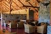 Bar area of the Ndutu Safari Lodge, Ngorongoro Conservation Area, Tanzania, Africa.  February 2016