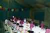 Dining at tented camp, Lake Manyara, Tanzania, Africa.  February 2013