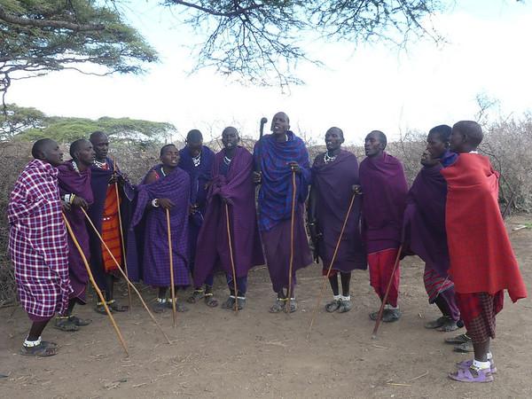 Masai in East Africa
