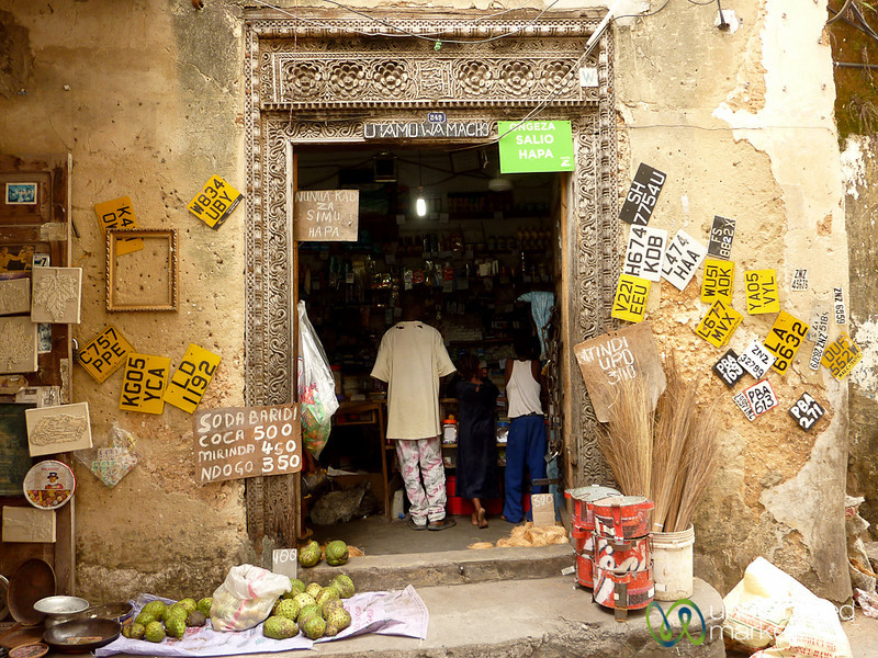 Corner Store in Stone Town - Zanzibar, Tanzania