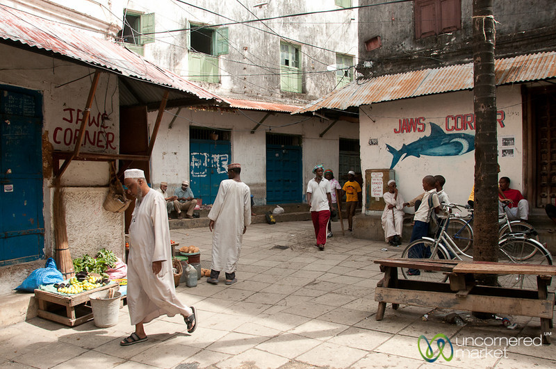 Jaws Corner in Stone Town - Zanzibar, Tanzania