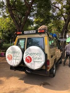 Safari vehicle in Tanzania
